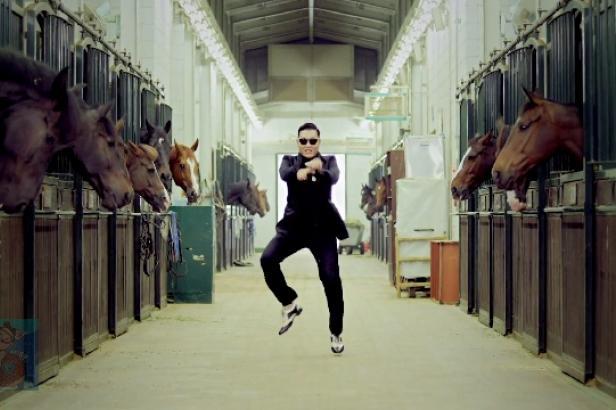 Extrait du clip de Psy, Gangnam Style